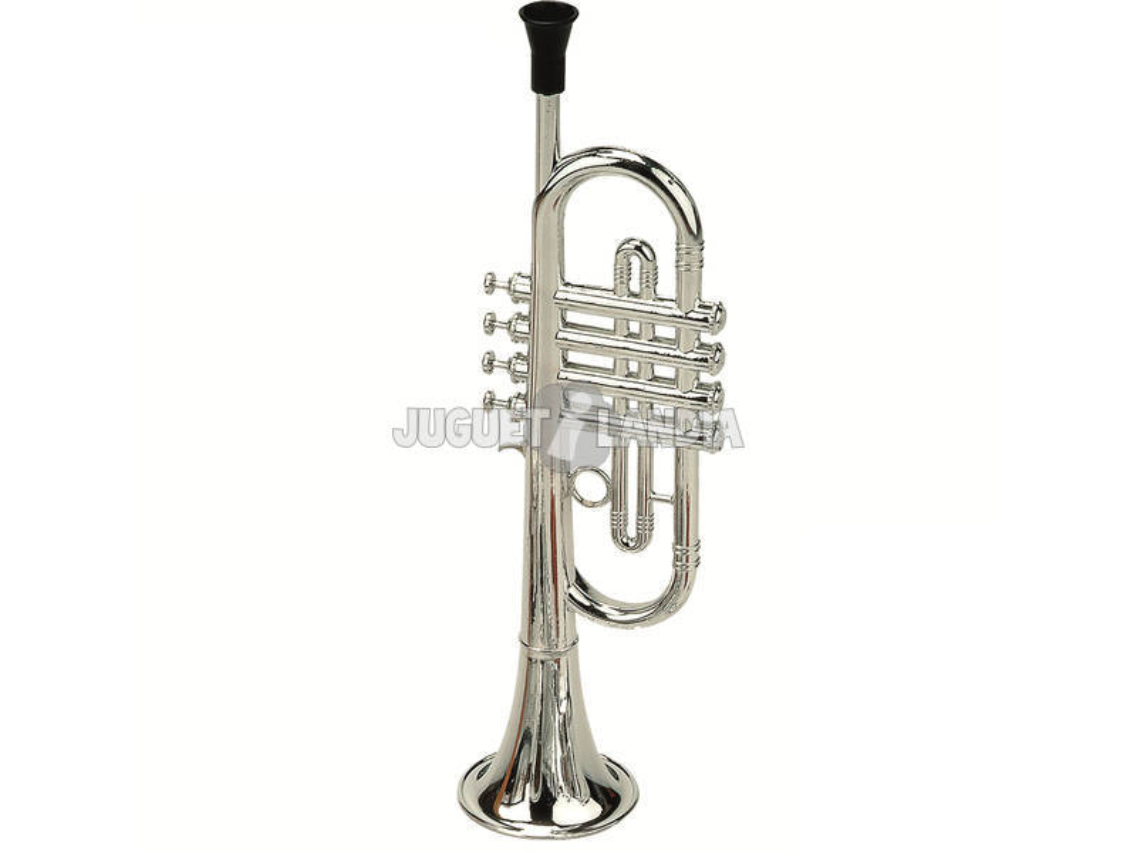 Trompeta Metalizada 4 Pistones Reig 283