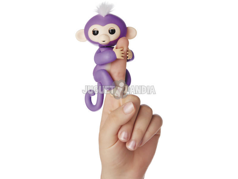 Macaco de bebê de alevinos Mia WowWee 3704