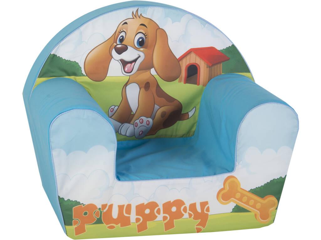 Poltrona per Bambino Puppy 41x50x32 cm