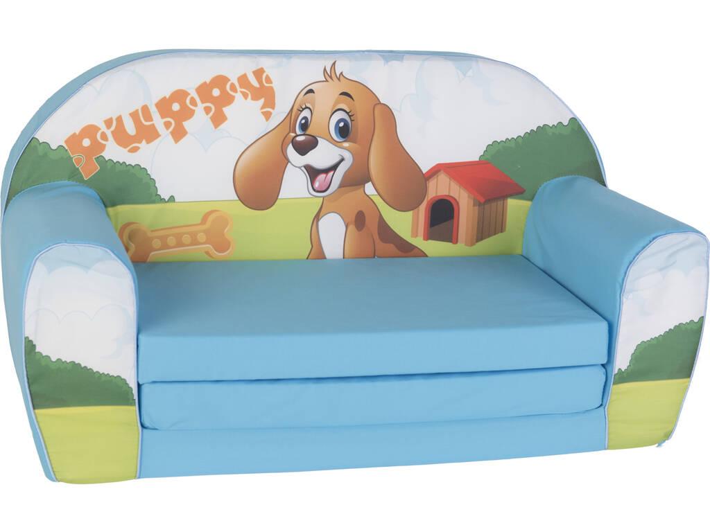 Divano per bambini Puppy 42x76x35 cm.