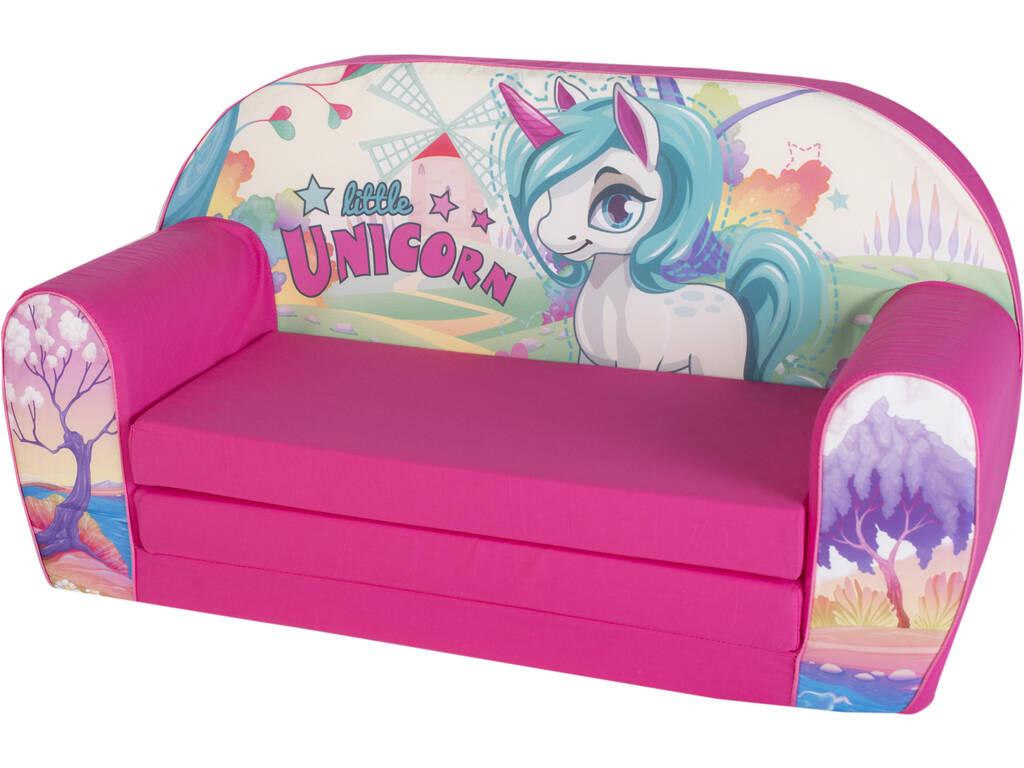 Poltrona per bambini Unicorno 42x76x35 cm.