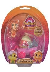 Bébé Princesse Safira avec Oeuf Surprise et Accessoires