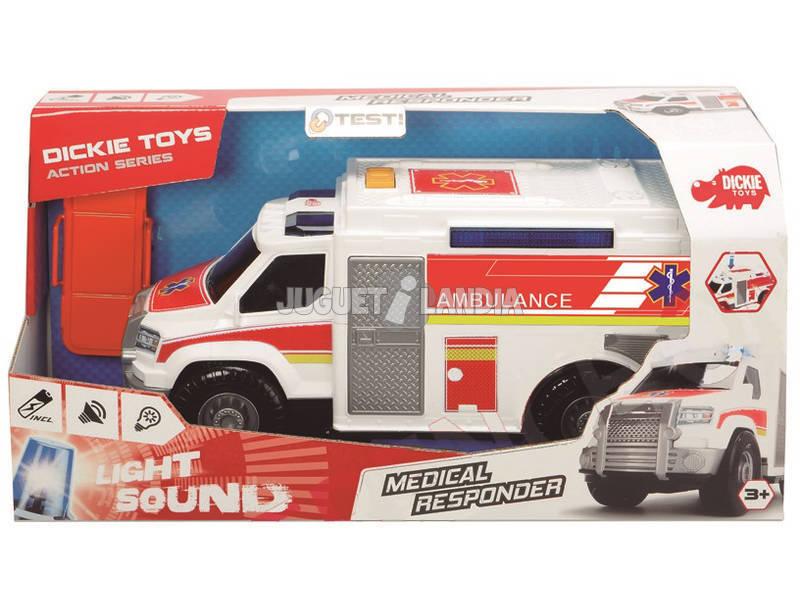 Action Series Ambulancia 30 cm. Simba 3306002