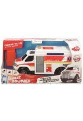 Action Series Ambulancia 30 cm. Simba 3306002