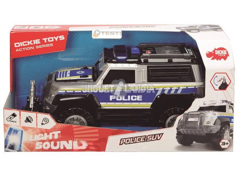 Action Series Coche Policía 30 cm. Simba 3306003