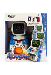 Robot de Football Radiocommandé Kickabot World Brands 88548