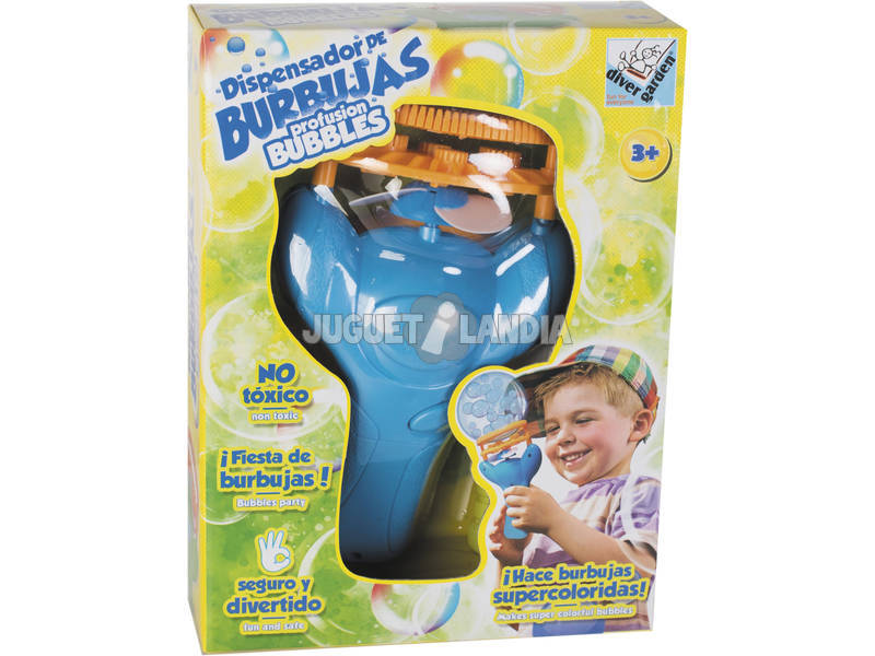 Macchina lancia bolle con sapone