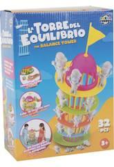 Der Turm des Gleichgewichts mit 32 Stück