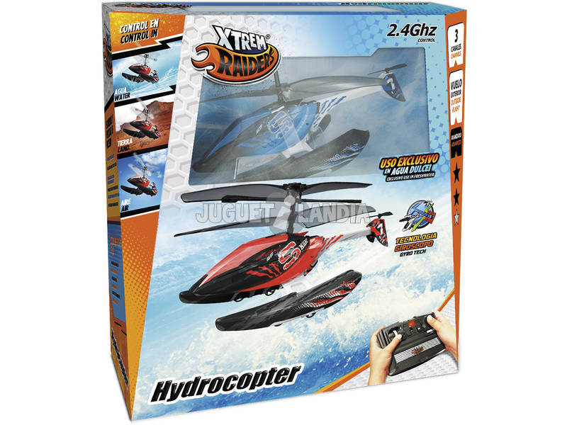 Helicóptero Telecomandado Hydrocopter World Brands 84758