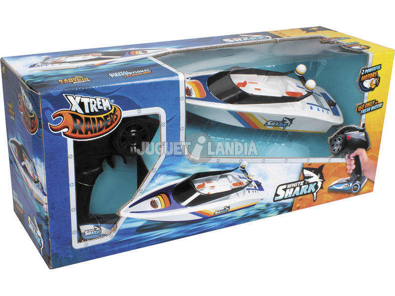 Radiocomando White Shark World Brands XT580759