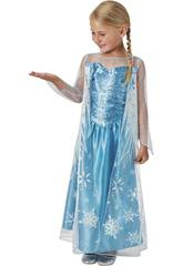 Disfarce de Menina Elsa Classic Tamanho S Rubies 620975-S