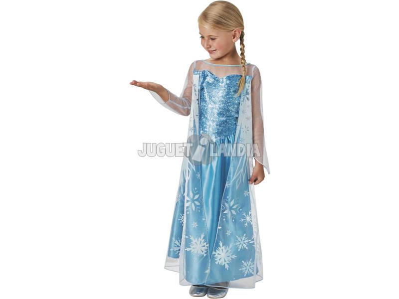 Disfraz Niña Elsa Classic Talla M Rubies 620975-M