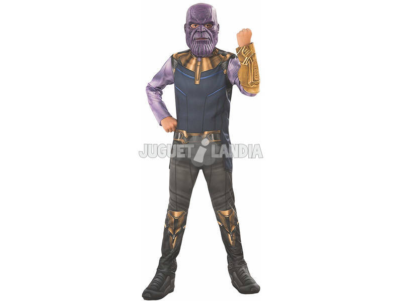 Disfarce de Menino Infinity War Thanos Classic Tamanho S Rubies 641055-S