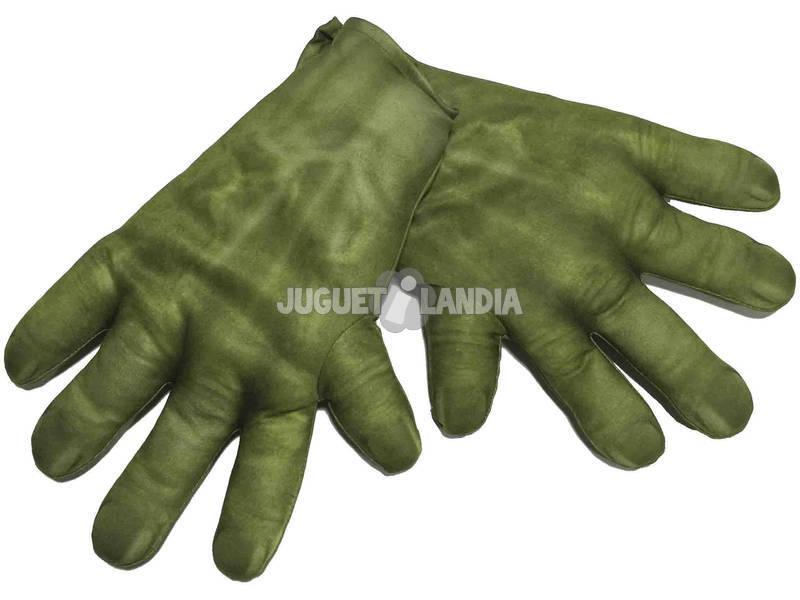 Luvas das crianças Hulk Rubies 36348