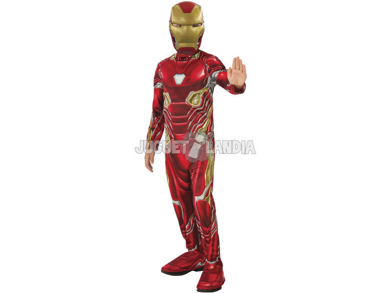 Disfarce de Menino Infinity War Iron Man Classic Tamanho S Rubies 641051-S