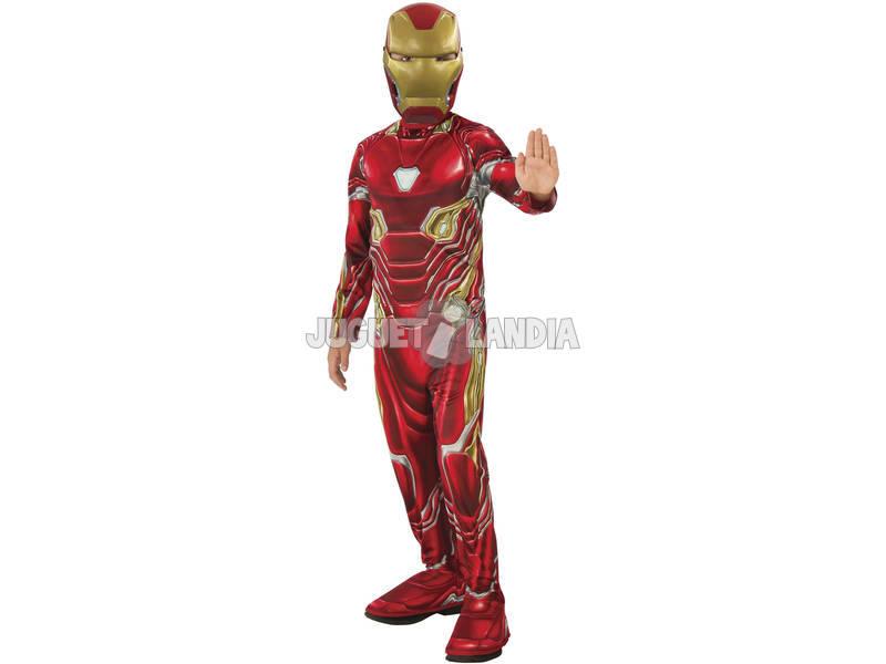 Disfarce de Menino Infinity War Iron Man Classic Tamanho L Rubies 641051-L