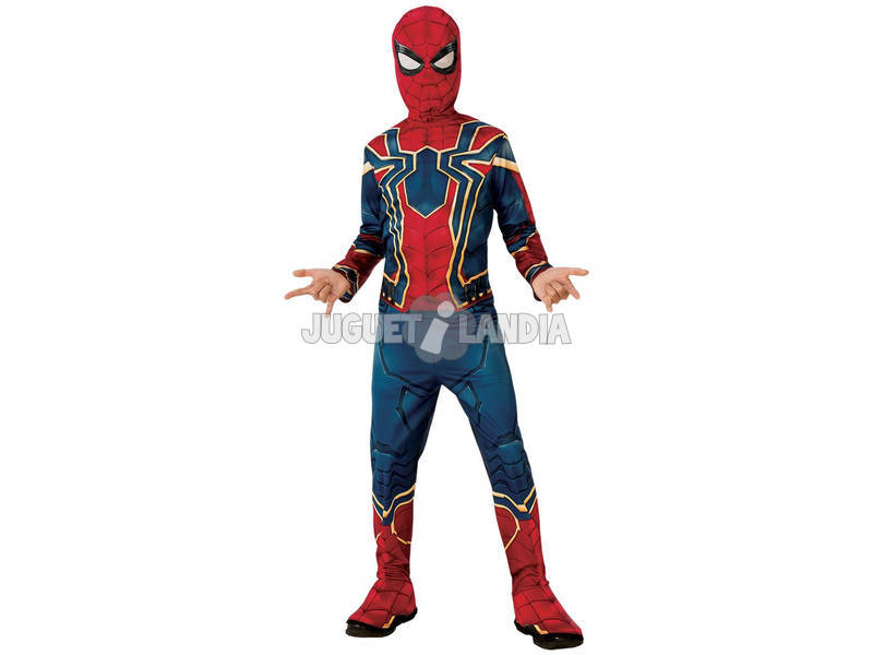 Disfarce de Menino Infinity War Iron Spider Classic Tamanho M Rubies 641052-M