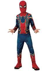 Déguisement Enfant Infinity War Spider Classic Taille M Rubies 641052-M