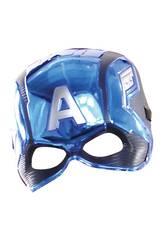 Avengers Máscara Infantil Capitão América Rubies 39217