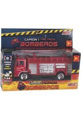 imagen Camión de Bomberos de Metal de 12 cm.