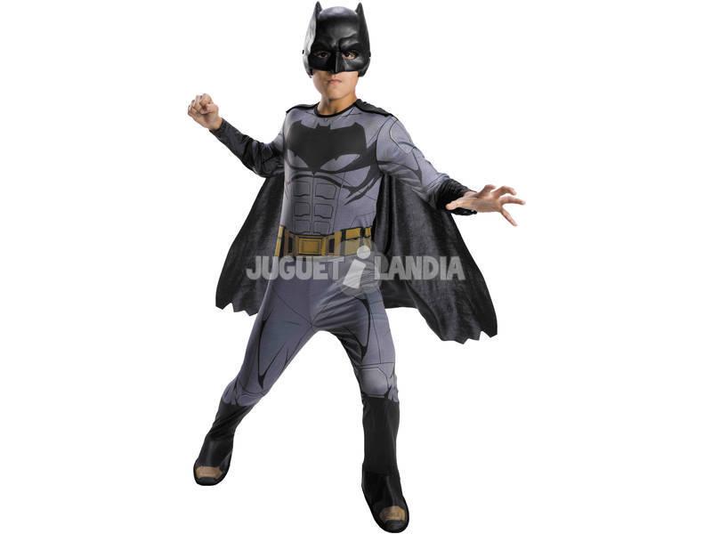 Disfarce Menino Batman Liga da Justiça Tamanho S Rubies 64099-S