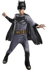 Déguisement Enfant Batman Ligue de la Justice Taille S Rubies 64099-S
