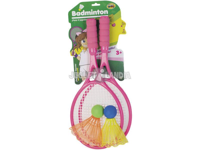 Set Due Racchette Badminton con Due Volani