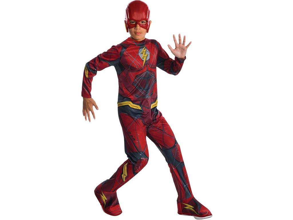 Disfarce de Crianças Flash Liga da Justiça Tamanho M Rubies 630861-M
