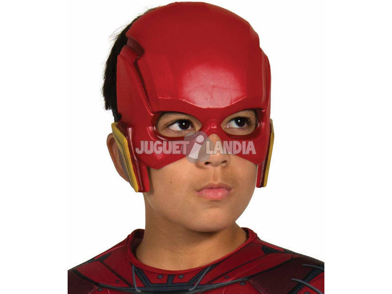 Máscara Infantil The Flash Liga De La Justicia Rubies 34273