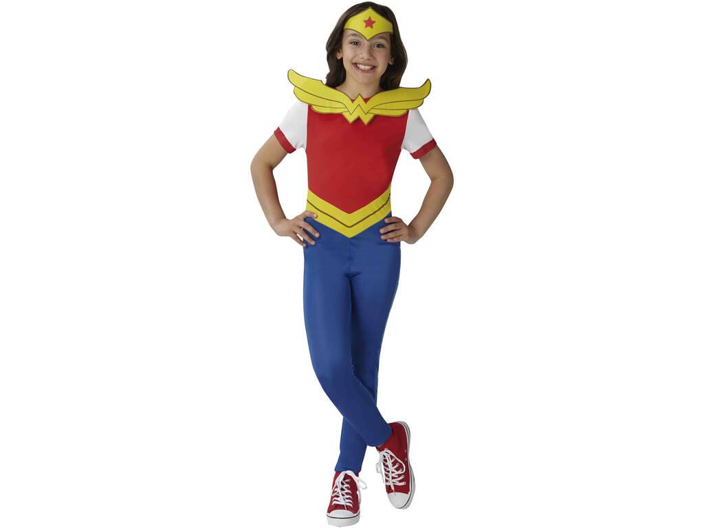 Disfraz Niña Wonder Woman Classic Talla M Rubies 630029-M