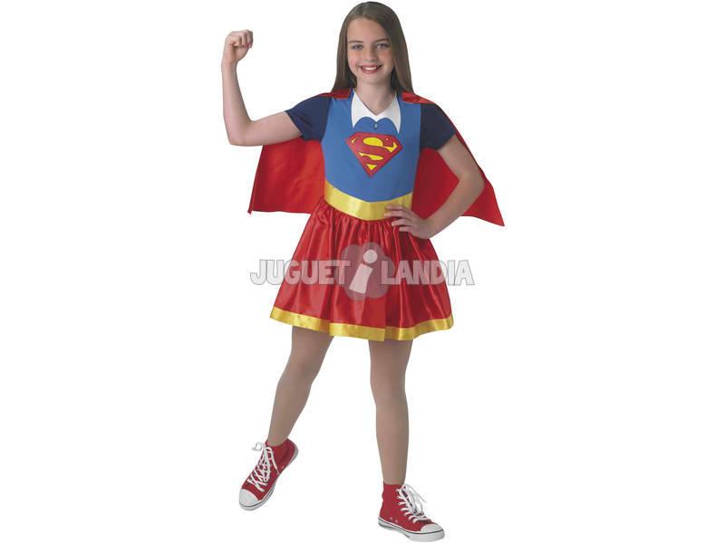 Disfarce de Menina Supergirl Classic Tamanho M Rubies 630021-M