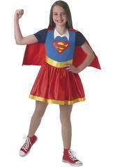 Kostüm für Mädchen Supergirl Classic Größe M Rubies 630021-M