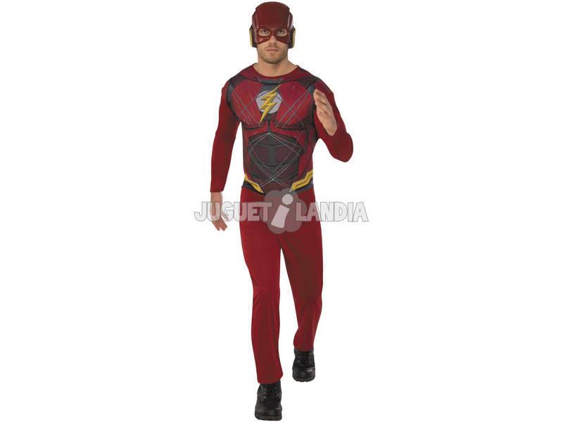 Disfarce de Adulto Liga da Justiça Flash Tamanho M Rubies 820961-M