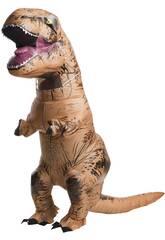 imagen Disfraz Adulto Hinchable T-Rex Talla Única Rubies 810481