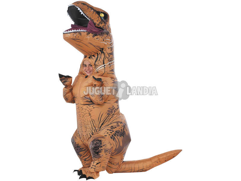 Disfarce Infantil Inflável T-Rex Tamanho Único Rubies 610821