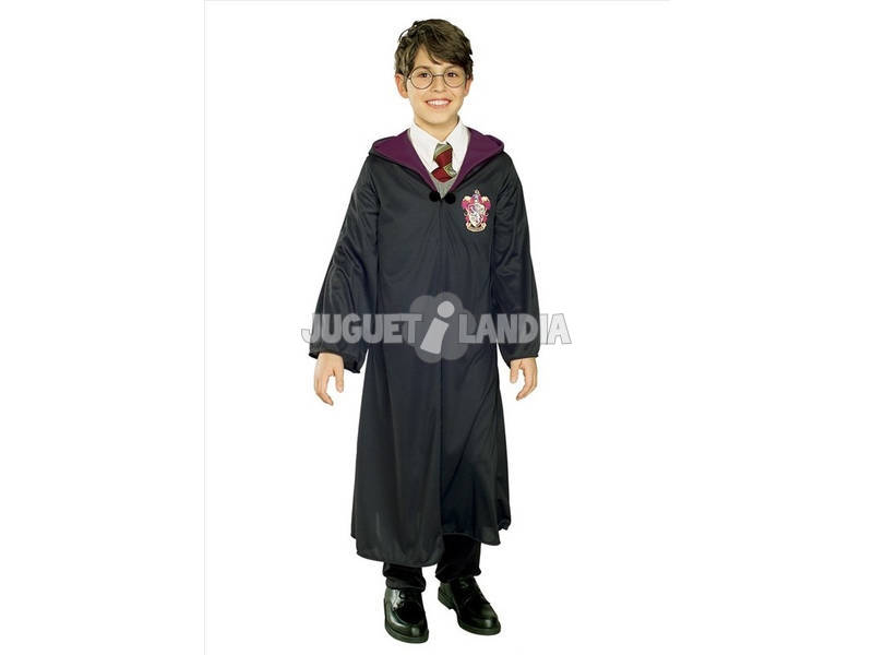 Disfarce de Menino Harry Potter Gryffindor Tamanho L Rubies 884252-L