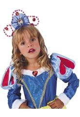 Diadème Enfant Blanche-Neiges Rubies 8467