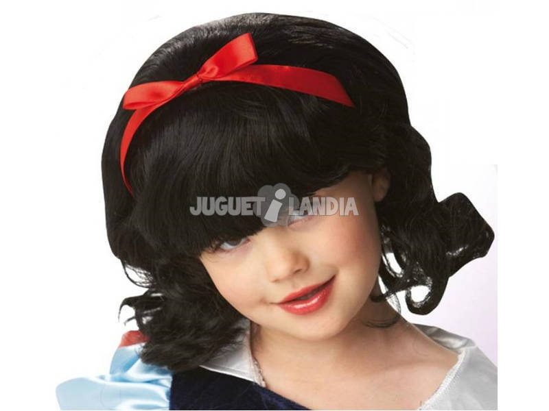 Parrucca per bambini Biancaneve Rubies 9907
