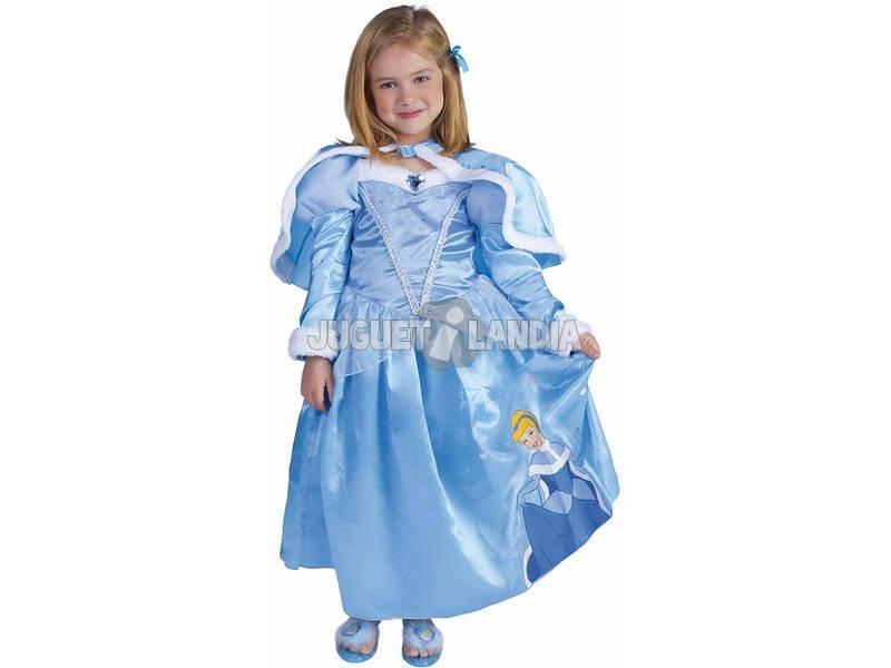 Disfraz de Menina Cinderella Winter Tamanho L Rubies 887090-L