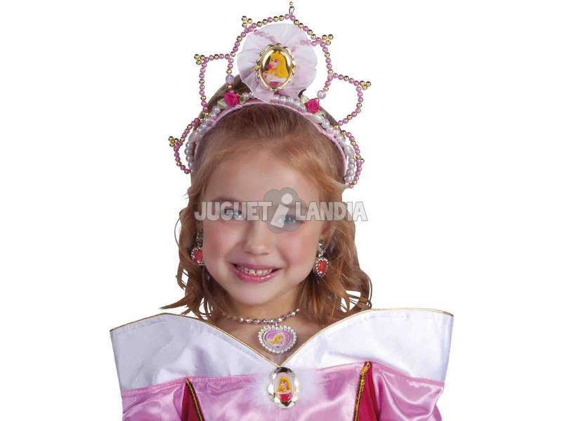 Tiara Infantil Bella Durmiente Rubies 8468