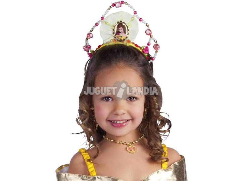 Tiara Infantil Bella Rubies 8466