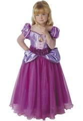 Disfarce de Menina Rapunzel Premium Tamanho M Rubies 620484-M