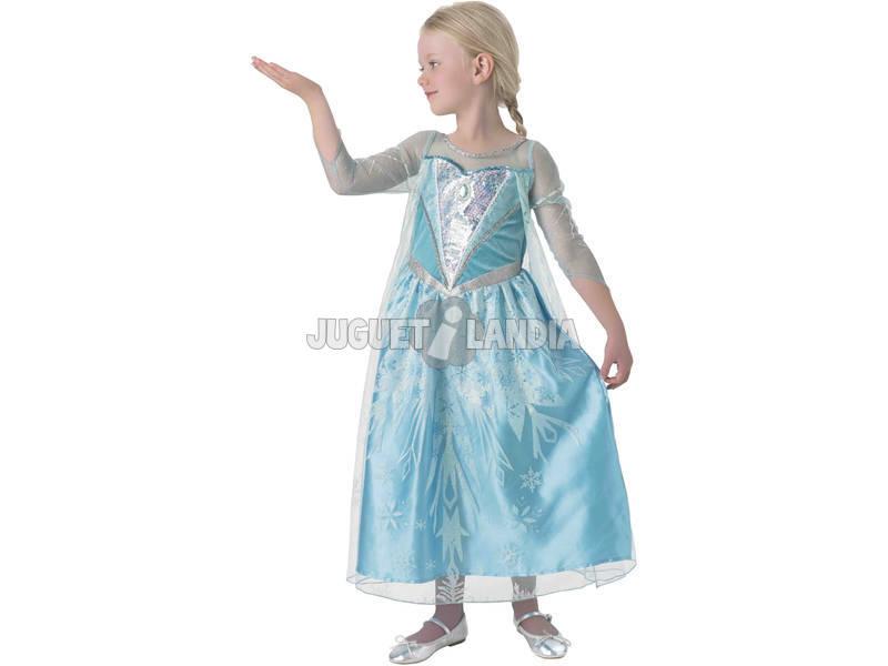 Disfraz Niña Elsa Premium Talla S Rubies 610869-S