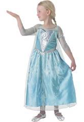 Disfarce de Menina Elsa Premium Tamanho M Rubies 610869-M