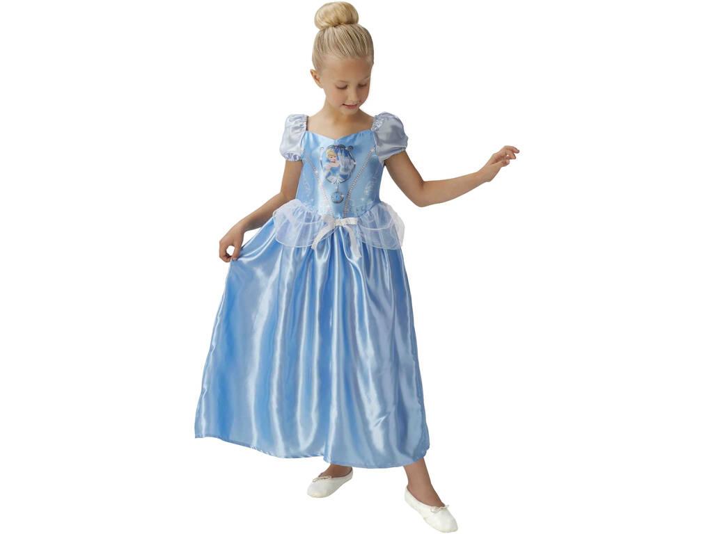Disfarce Menina da Cinderela Fairytale Classic Tamanho M Rubies 620640-M