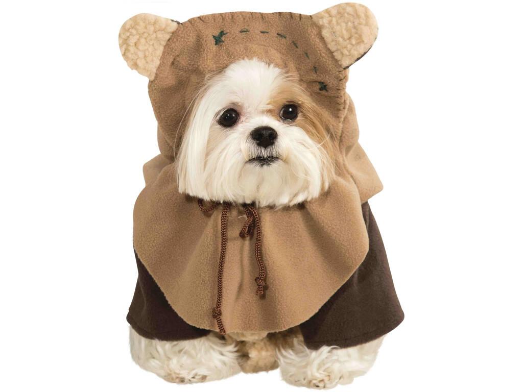 Disfarce para Mascotes Star Wars Ewok Tamanho XL Rubies 887854-XL
