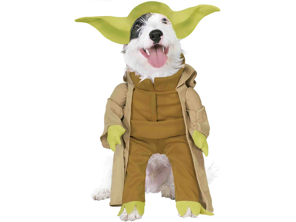 Disfarce Mascote Star Wars Yoda Deluxe Tamanho S Rubies 887893-S