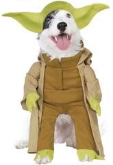Disfarce de Mascote Star Wars Yoda Deluxe Tamanho L Rubies 887893-L