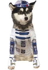 Costume per Animali Star Wars R2-D2 L Rubies 888249-L