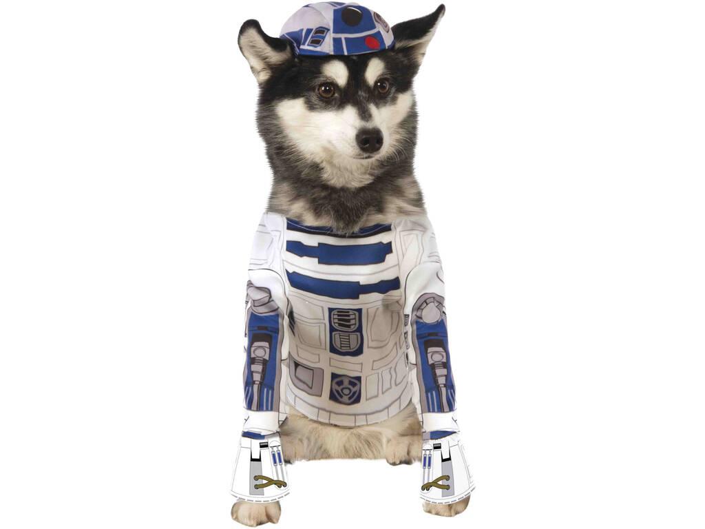 Disfarce de Mascote Star Wars R2-D2 Tamanho XL Rubies 888249-XL